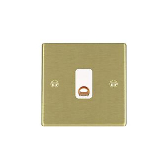 Hamilton Litestat Hartland Satin Brass 20A Cable Outlet WH