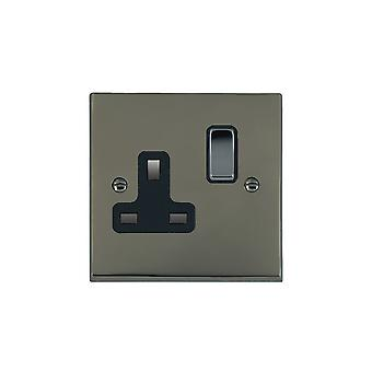 Hamilton Litestat Cheriton Victorian Black Nickel 1g 13A DP Swt Skt BK/BL