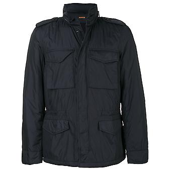 Aspesi men 2I17795485101 Blue Nylon jacket