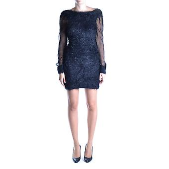 Daniele Alessandrini ladies MCBI086385O black nylon dress