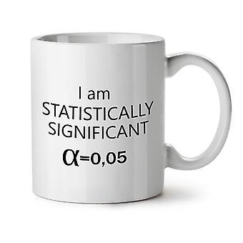 Statistik citat nye hvide te kaffe keramik krus 11 ounce | Wellcoda