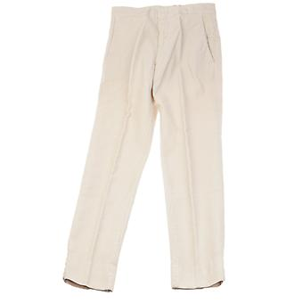 Aspesi ladies G0108C80085044 beige cotton pants