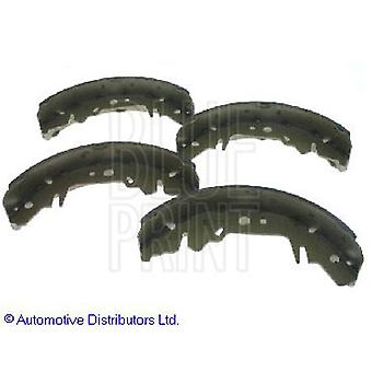 Blue Print Set of 4 OE Quality Brake Shoes ADG04119