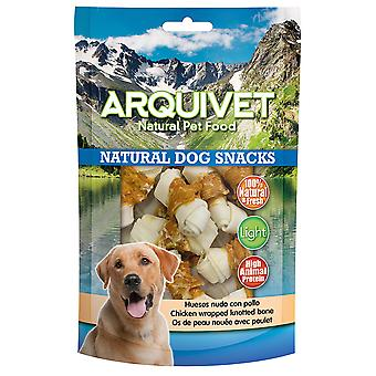 Arquivet Natural Snack for Dog Bones Chicken Knot (Dogs , Treats , Natural Treats)