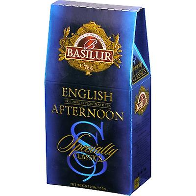 Basilur Tea Speciality Classics english Afternoon Loose Tea Pack 100G