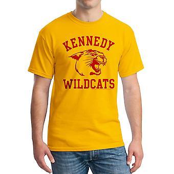Undre år Kennedy vildkatte mænds guld T-shirt
