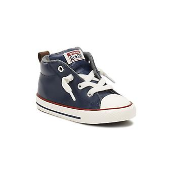 Converse All Star Chuck Taylor Infants Navy Trainers