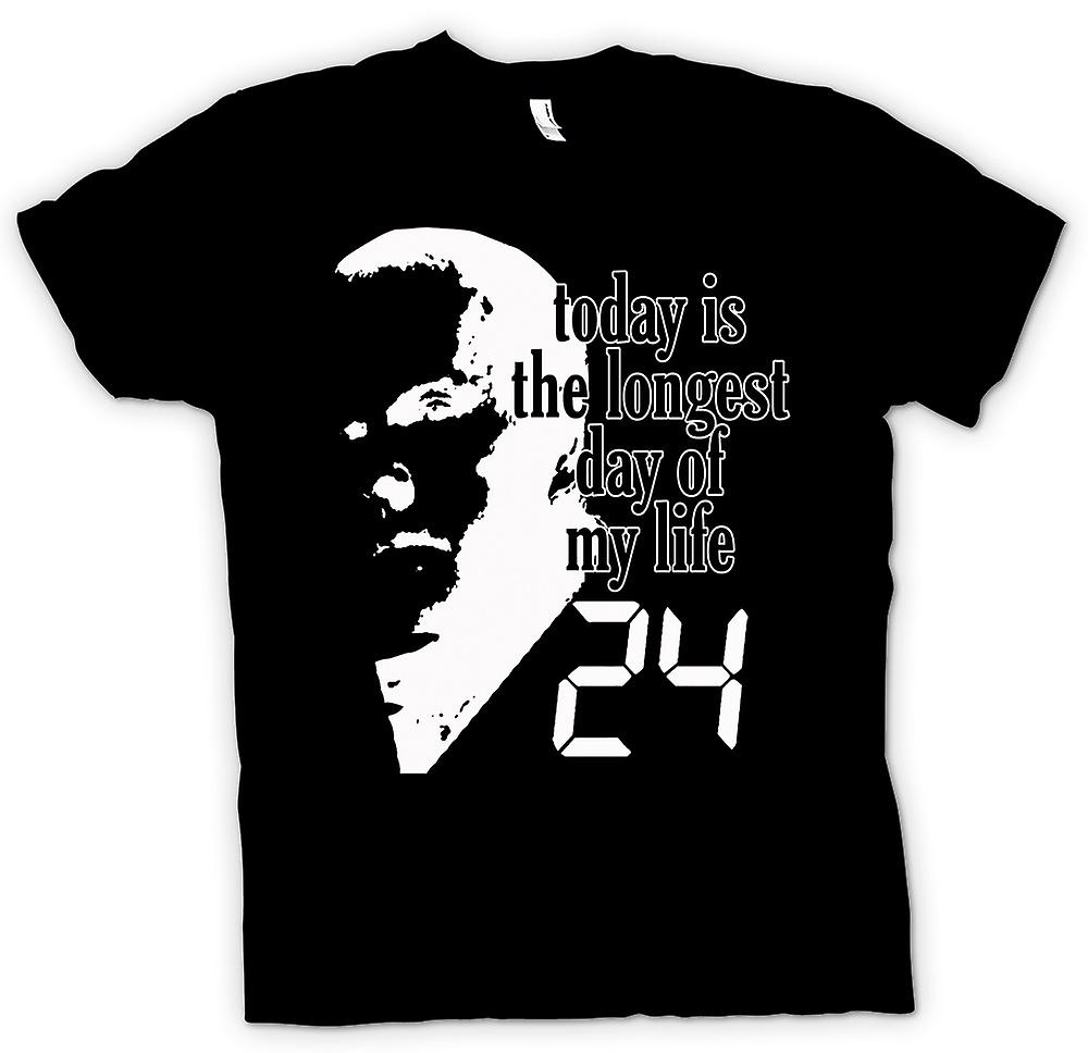 Mens T-shirt - Jack Bauer - 24 Longest Day - Funny