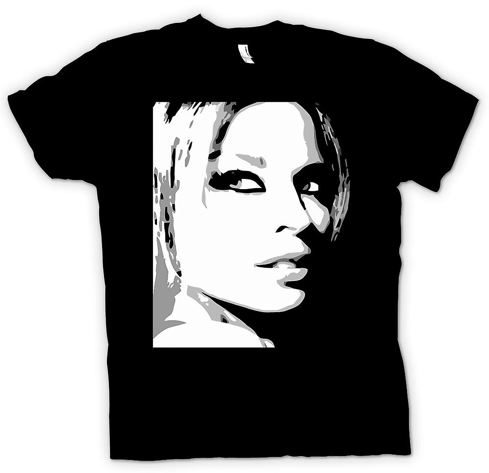 Kids t-shirt - Kylie Minogue - BW