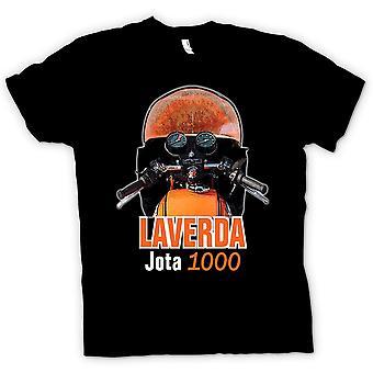 تي شيرت رجالي-لافيردا مخيم الإنترنت 1000 دراجة كلاسيكية