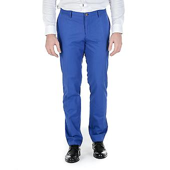 Hugo Boss Mens Pants Blue Stanino