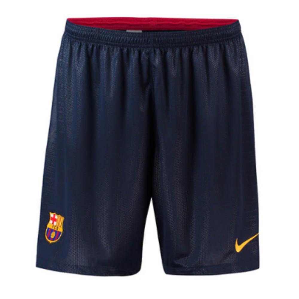 2018-2019 Barcelona Home Nike Football Shorts (Navy)