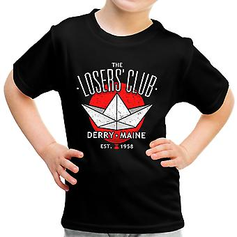 It Derry Losers Club Maine Kid's T-Shirt