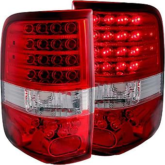 Anzo USA 311022 Ford F-150 LED Red/Clear Styleside - (Sold in Pairs)