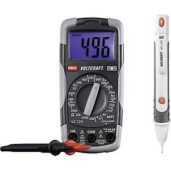 VOLTCRAFT DT-TEST-KIT 150 mano Multímetro Digital calibrado: las normas del fabricante (no certificado) CAT III