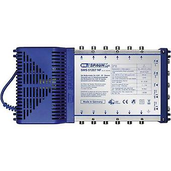 Spaun Light SMS 51207 NF SAT multiswitch Inputs (multiswitches): 5 (4 SAT/1 terrestrial) No. of participants: 12 Standby mode