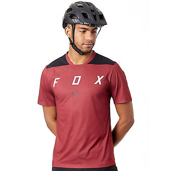 Fox Dark Red 2018 Indicator Mash Camo Short Sleeved MTB Jersey