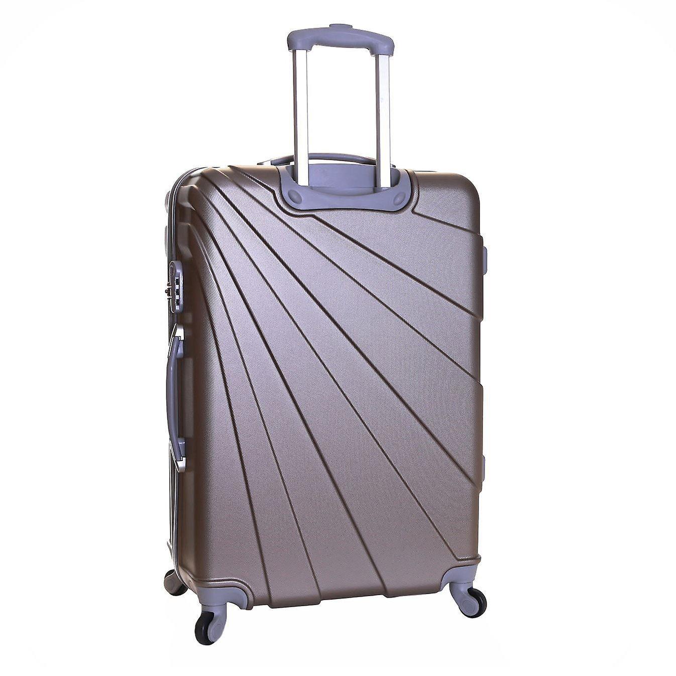 Slimbridge Fusion Large Hard Suitcase, Champagne