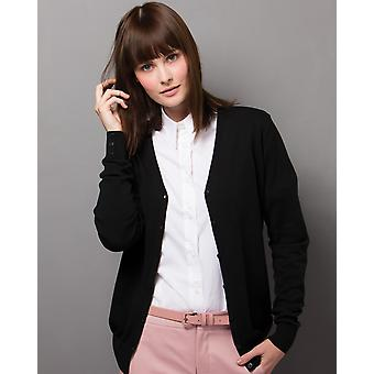 Kustom Kit Ladies V-Neck Cardigan - KK354