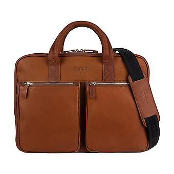 Bugatti Sartoria leerzak business Briefcase laptoptas aktetas
