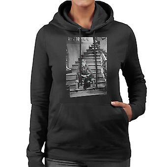 TV Times David Bowie Bing Crosby Show 1977 Women's Hooded Sweatshirt