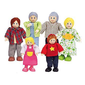 Famille de maison de poupée Hape