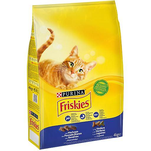 Friskies Adult Codfish and Vegetables (Cats , Cat Food , Dry Food)
