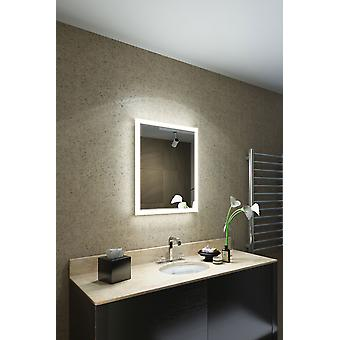 RGB Shaver LED Bathroom Mirror with Demister pad & sensor K1416irgb