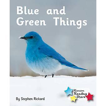 Blaue und grüne Dinge - 9781781277898 Buch