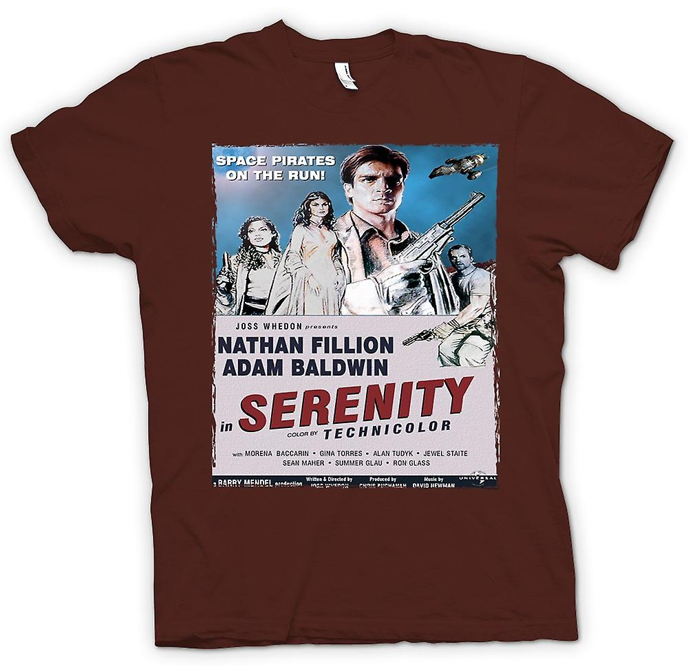 Mens T-shirt - Serenity-Space-Western - B-Movie