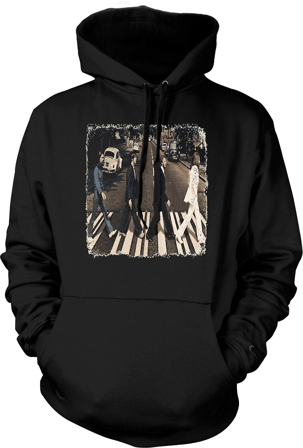 Barn Hoodie - Beatles - Abbey Road - albumet konst