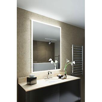 K8402iv de máquina de afeitar LED baño espejo antivaho Pad & Sensor de borde de vena