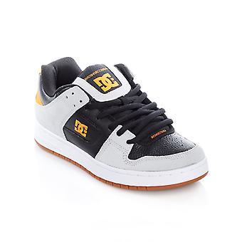DC Grey-Black-Orange Manteca Shoe