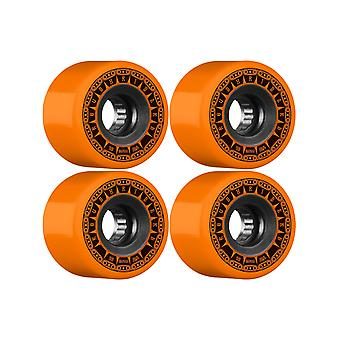 Knochen Orange Rough Riders Tank - 59mm-Skateboard-Rollen