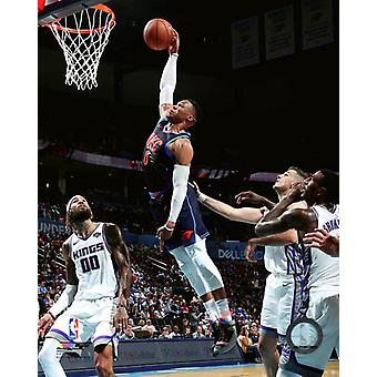 Russell Westbrook 2018-19 Action Photo Print