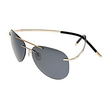 Luna de race Polarized lunettes de soleil - or/noir