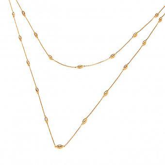 Collana Oro Vermeil, CZ e argento francese di Cavendish
