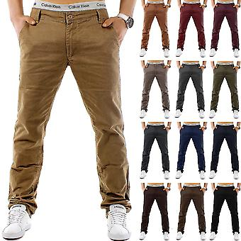 CHINO style pants Trendstr Regular Fit Jeans Chino Trousers W28 - W38 Brown Beige