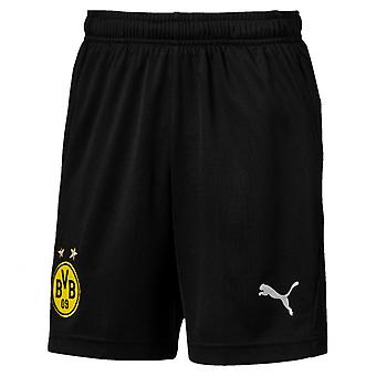 PUMA BVB training s Jr with pockets with zippers kids of shorts black