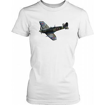 Spitfire Image - WW2 Legend Ladies T Shirt