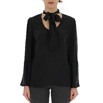 Michael Kors Black Silk Blouse