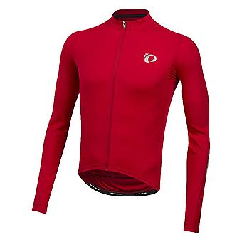 Pearl Izumi Rogue Red-Port Diffuse Select Pursuit Long Sleeved Cycling Jersey