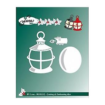 By Lene Cutting & Embossing Dies Lanterns (BLD1112)