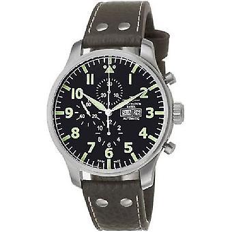 Zeno-watch mens watch giant pilot Navigator chronograph 10557TVDDN-a1