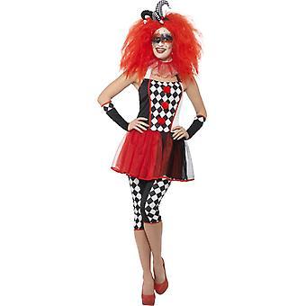 Twisted Harlekijn kostuum