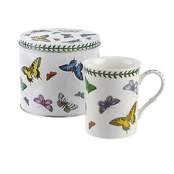 Portmeirion Botanic Butterfly Mug and Tin Set