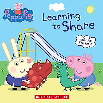 Learning to Share (Peppa Pig) by Meredith Rusu - 9781338210262 Book