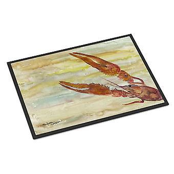 Carolines Treasures  SC2021MAT Crawfish Yellow Sky Indoor or Outdoor Mat 18x27