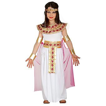 Girls Ancient Egyptian Cleopatra Fancy Dress Costume