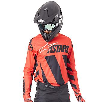 Alpinestars Black-Red-White 2019 Racer Braap MX Jersey